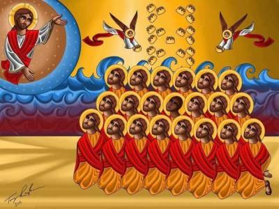 icona copta USA